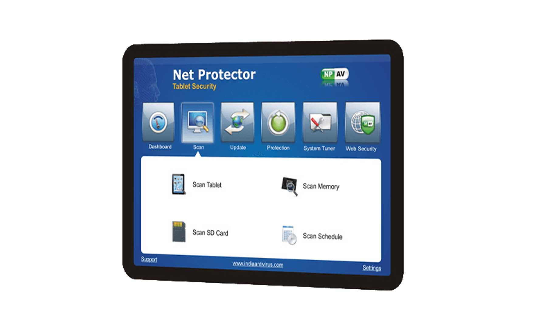 Net Protector Tablet Security
